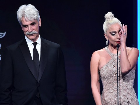 Lady Gaga breaks down in tears as she thanks Bradley Cooper for allowing her 'to be Stefani again'