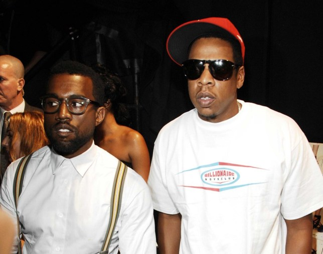 Mandatory Credit: Photo by Sipa/REX/Shutterstock (800797ag) Kanye West and Jay Z Marc Jacobs Spring / Summer 2009 Fashion Show, Mercedes-Benz Fashion Week, New York, America - 08 Sep 2008