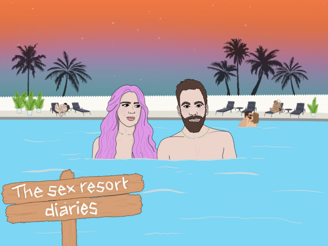 The sex resort diaries