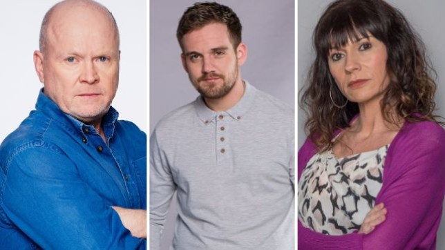 Soap spoilers for EastEnders Phil, Coronation Street Ali and Emmerdale Chas