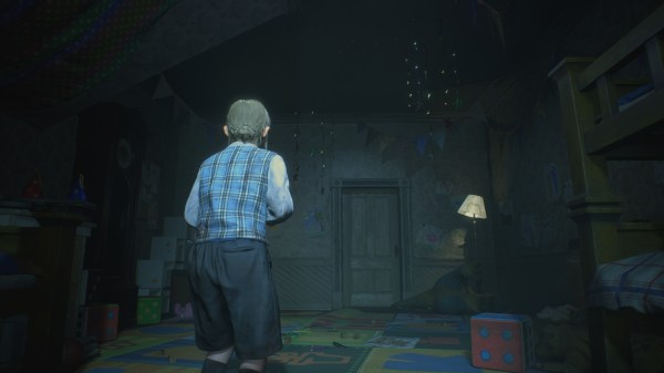 Resident Evil 2 - this is literally all we saw of the Orphanage
