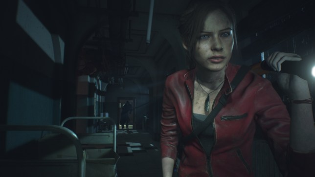 Resident Evil 2 - look out behind you Claire!