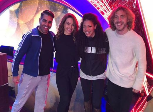 Seann Walsh reunites with Strictly stars