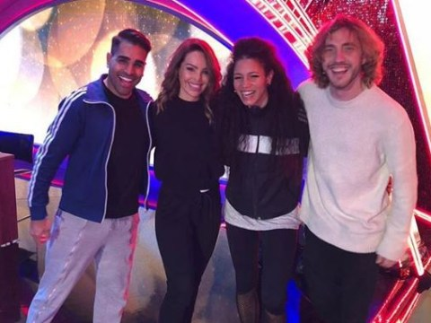 Seann Walsh ducks out of Instagram story as he's reunited with Strictly stars for Children In Need: 'Don't'