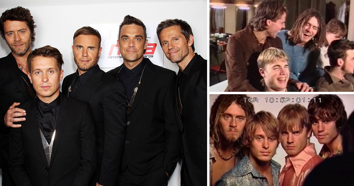 Take That take trip down memory lane with new video as Robbie Williams reunion is confirmed