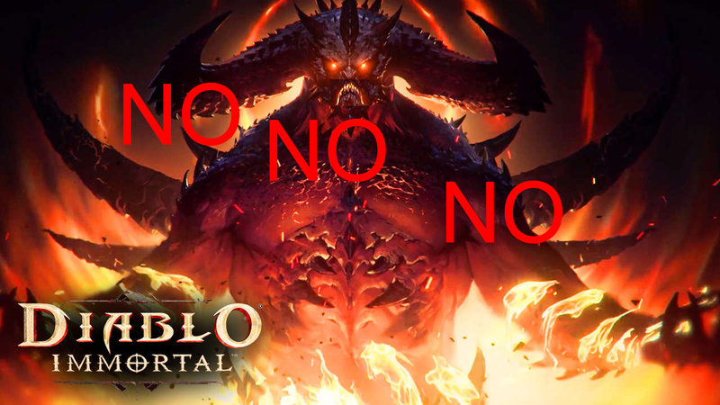 Hell hath no fury like a Diablo fan scorned
