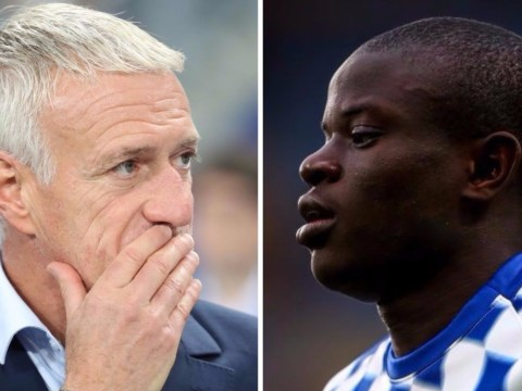 Didier Deschamps backs Maurizio Sarri's decision to play N'Golo Kante further forward