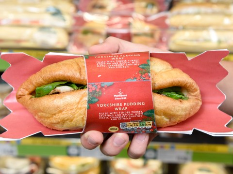 Morrisons launches Christmas sandwich wrapped in a Yorkshire pudding