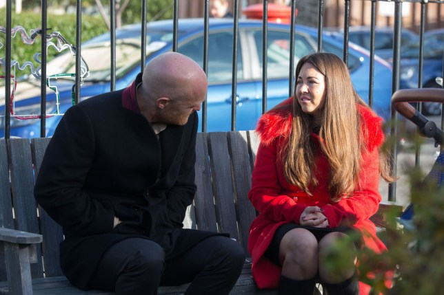 Stacey and Max in EastEnders