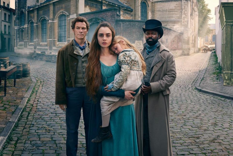 BBC Les Miserables cast list versus Tom Hooper's 2012 film