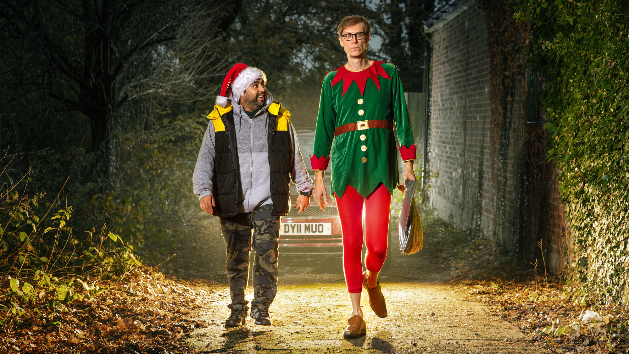 Click and Collect review: Stephen Merchant and Asim Chaudhry delight in Christmas crowd-pleaser