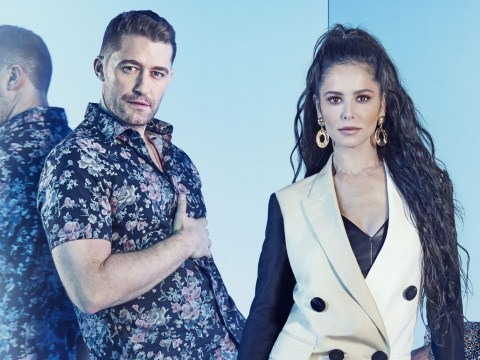 Cheryl helped Matthew Morrison when his son got 'really sick' and they've been bonding over parenting