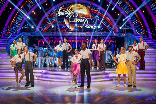 A group shot from Strictly Come Dancing 2018