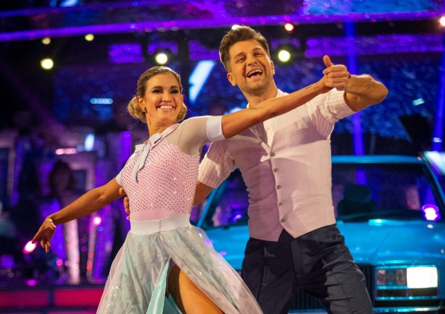 Pasha Kovalev and Ashley Roberts in Strictly Come Dancing