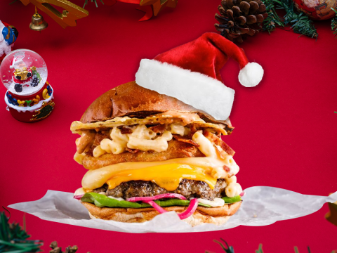 12 Burgers of Christmas: 12 of the best festive burgers available in London