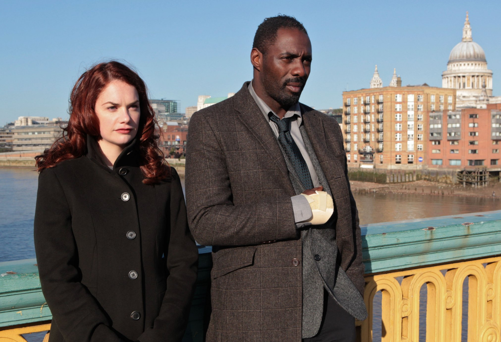 What time is Luther on tonight as the new series arrives?