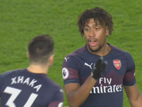 Alex Iwobi clueless about Arsenal's formation as he replaces Mesut Ozil against Brighton