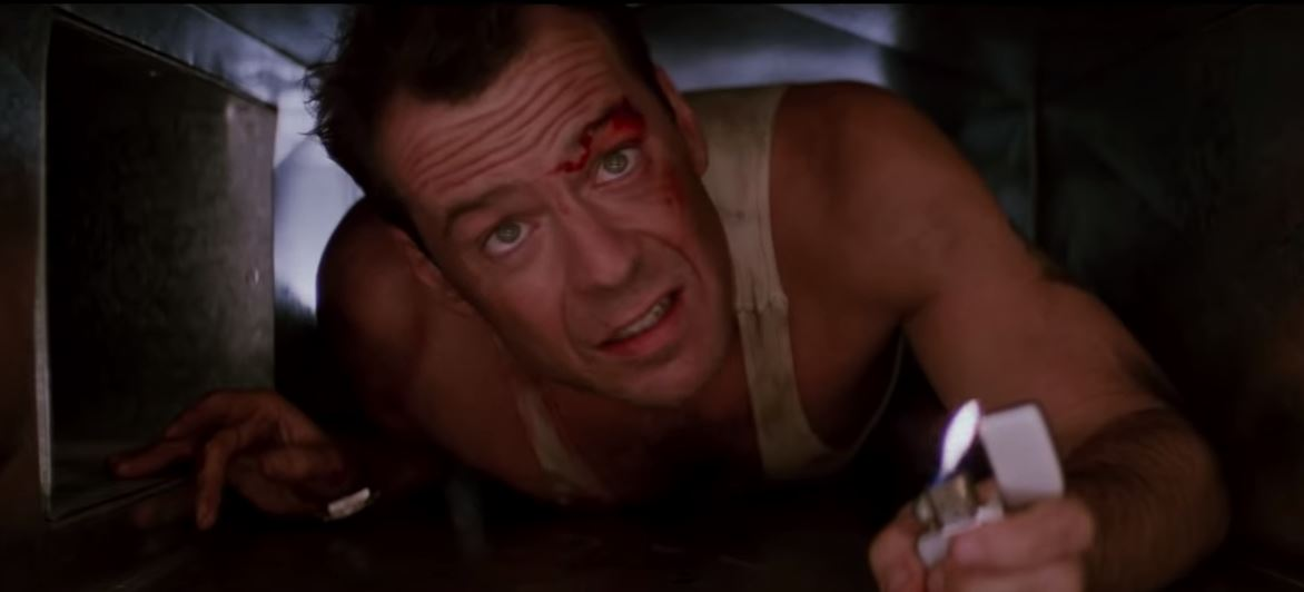 Is it really Christmas if John McClane isn't shooting bad guys? (Picture: 20th Century Fox)
