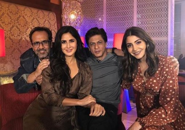 Aanand L Rai and cast of Zero