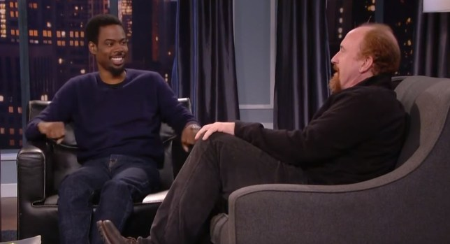 Chris Rock and Louis CK on Talking Funny