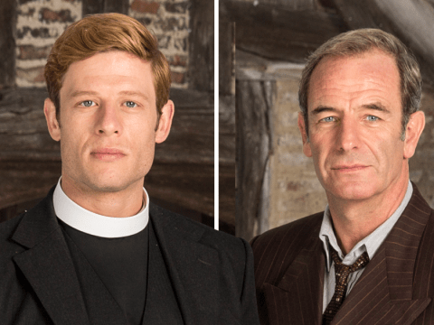 Robson Green almost quit Grantchester with James Norton but bosses gave him 'incentives' to stay