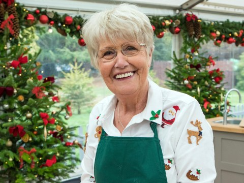Great British Bake Off's Flo makes boozy festive cake with three types of cheese in it
