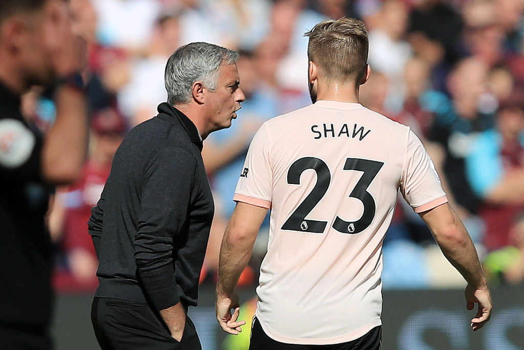 The real reason Luke Shaw didn't play in Jose Mourinho's final two matches