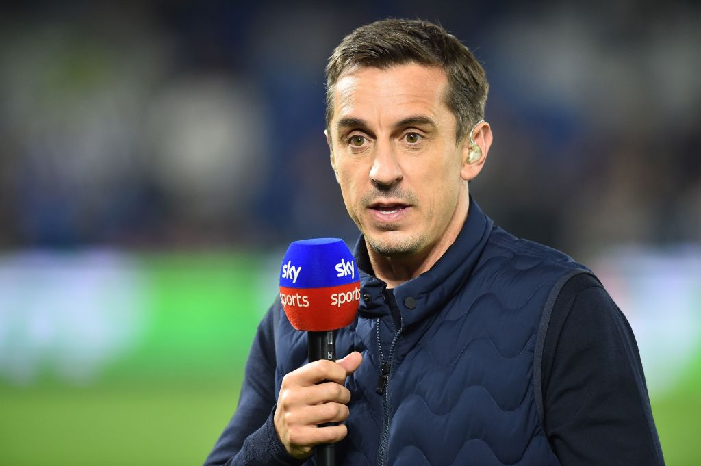 Gary Neville claims he only played with two truly world class players at Manchester United, says Jamie Carragher