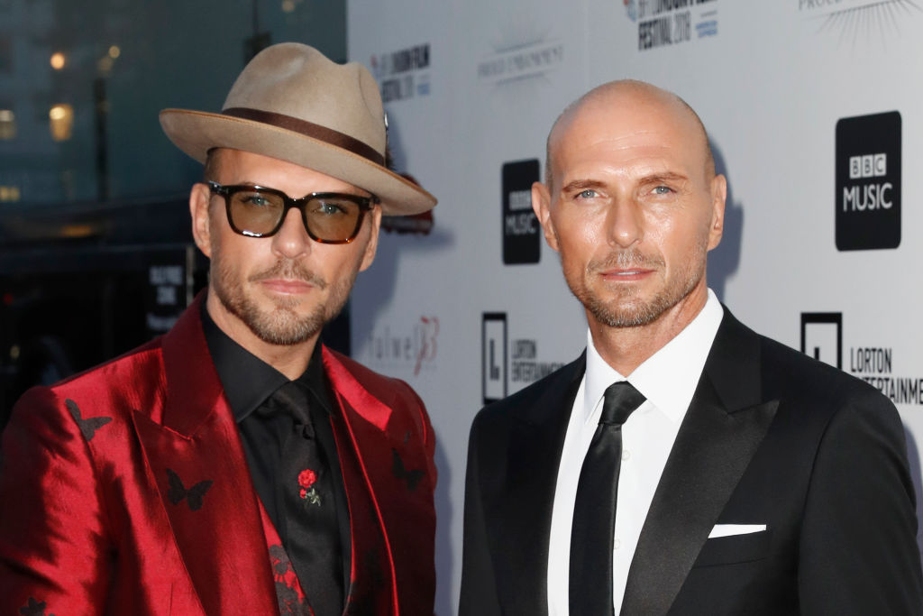 Matt Goss and Luke Goss
