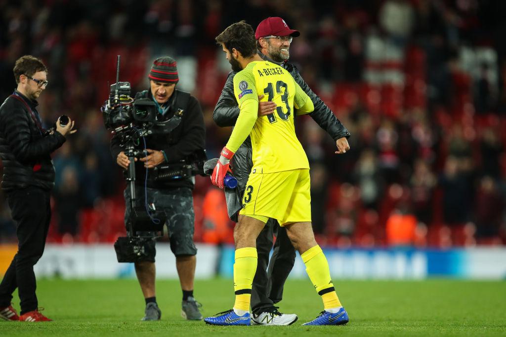 Jurgen Klopp reveals Alisson motivated Liverpool to beat Man United