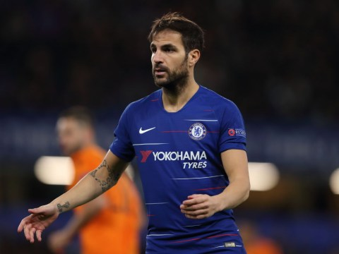 Cesc Fabregas reveals he's unhappy with his current role at Chelsea