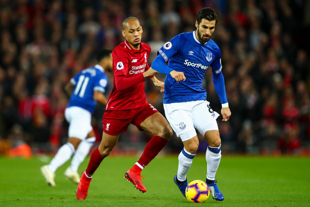 Tottenham target Andre Gomes coy over future after impressive start at Everton