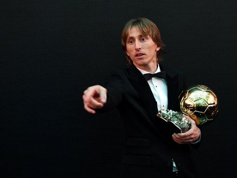 Luka Modric slams Cristiano Ronaldo and Lionel Messi for their Ballon d'Or snub