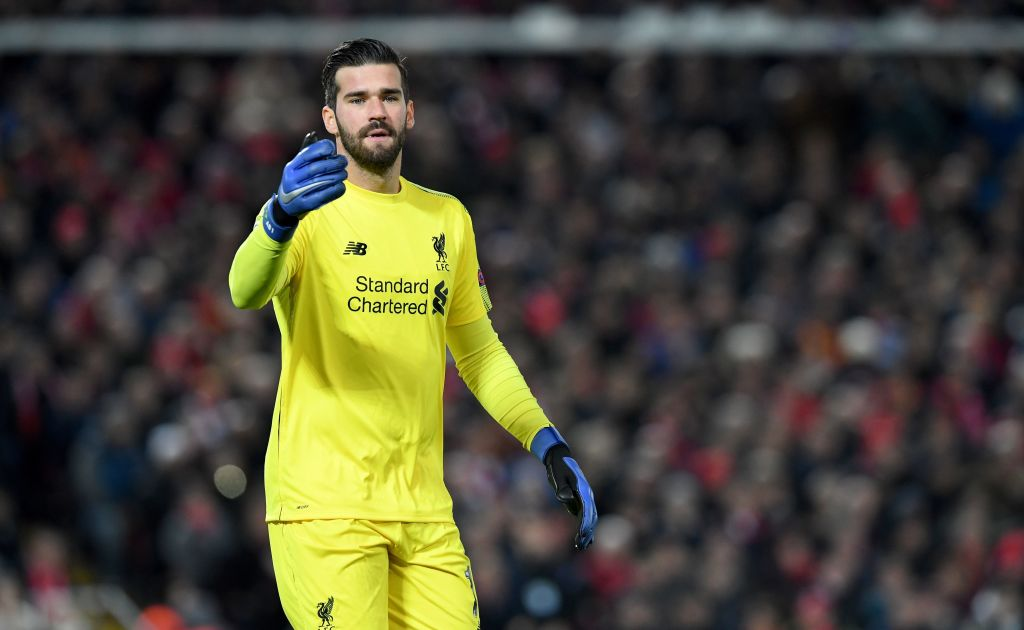 Virgil Van Dijk praises Alisson for allowing Liverpool to play out from defence