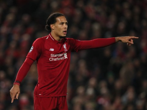 Liverpool wary of Manchester United's pace up front admits Virgil Van Dijk