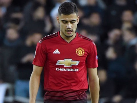 Andreas Pereira reveals what Manchester United players said at half-time during Valencia defeat