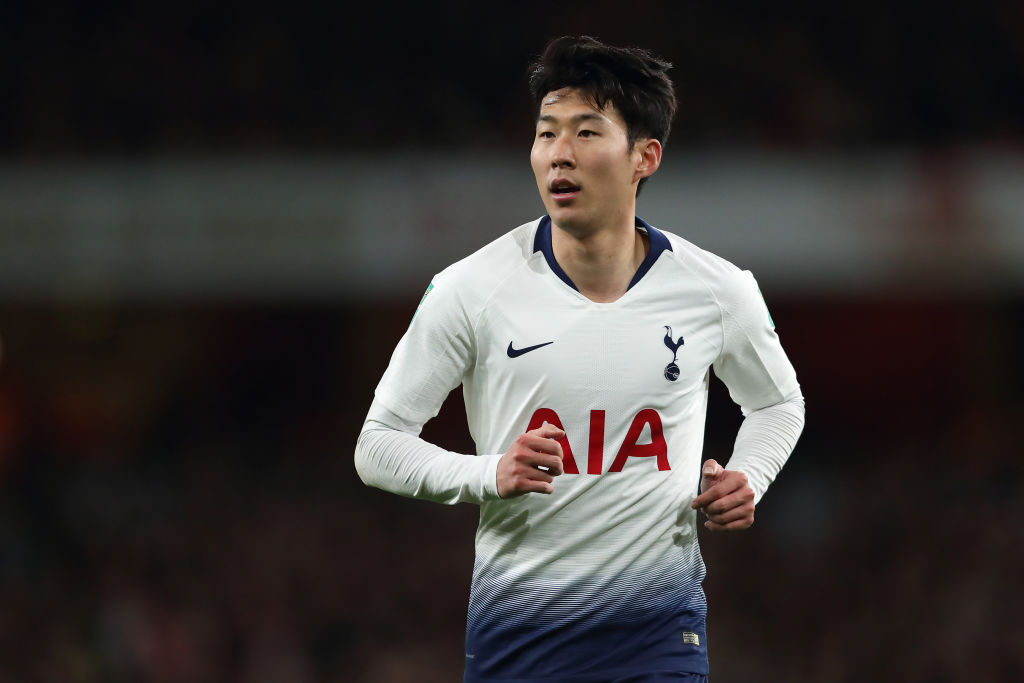 The games Heung-Min Son will miss for Spurs after being called up to the Asian Cup