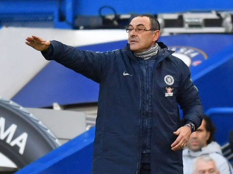 Maurizio Sarri rules out two players ahead of Chelsea's game vs Crystal Palace
