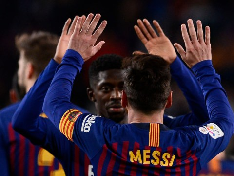 Lionel Messi provides update on Arsenal transfer target Ousmane Dembele