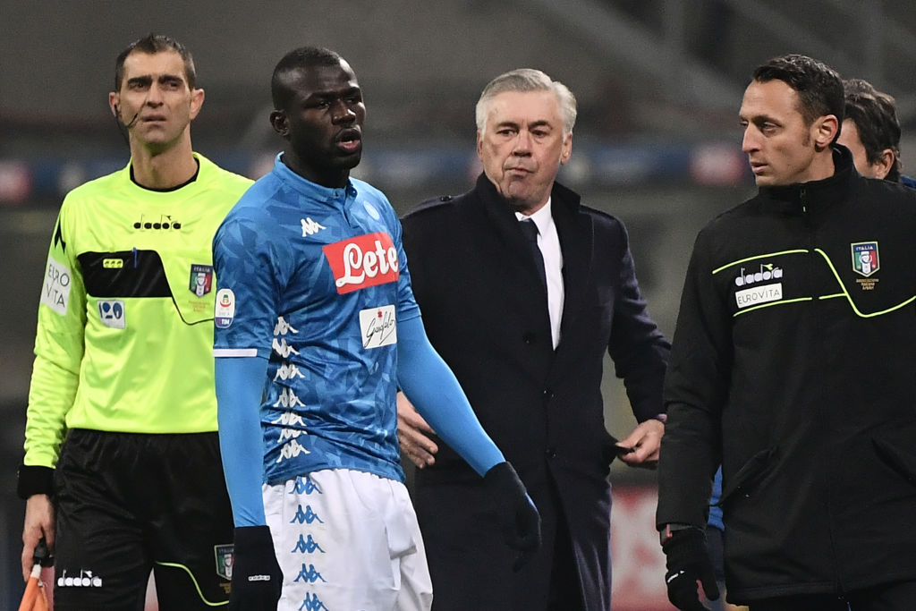 Cristiano Ronaldo demands 'education and respect' after Kalidou Koulibaly was 'subjected to racial abuse'