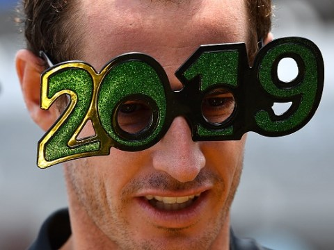 Andy Murray makes injury return on New Year's Day in Brisbane