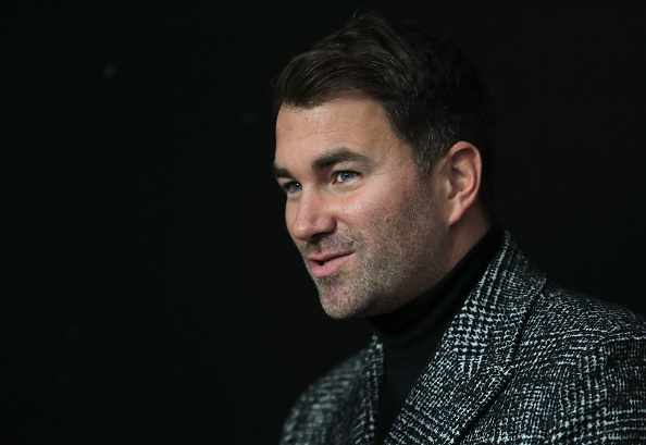 Eddie Hearn coy on reports Deontay Wilder has rejected $100m DAZN offer to fight Anthony Joshua