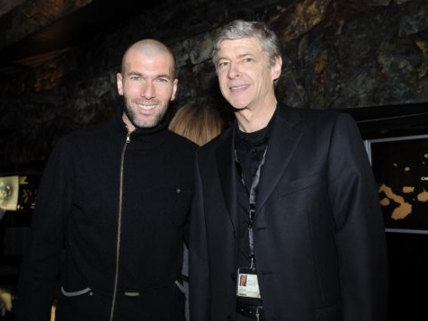 Arsene Wenger gives verdict on Manchester United target Zinedine Zidane's next move