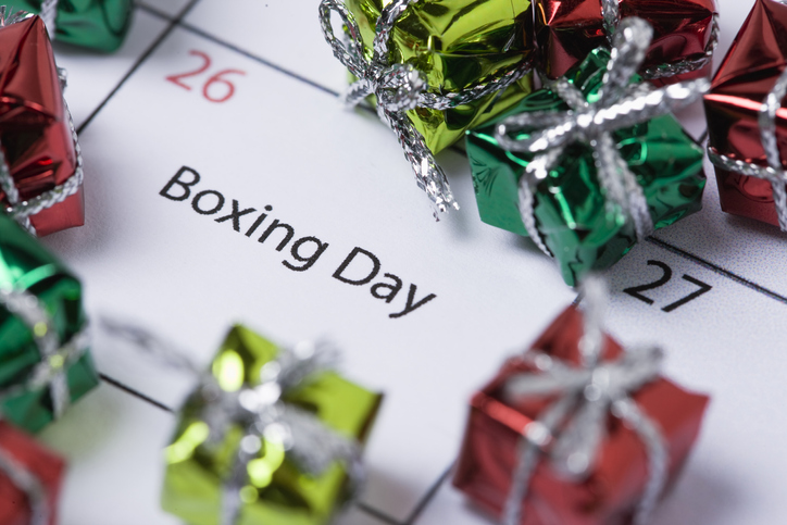 Why is Boxing Day called Boxing Day in the UK and not just St Stephen's Day?
