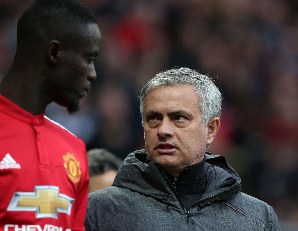 Eric Bailly sends cryptic message to Jose Mourinho after Manchester United sacking