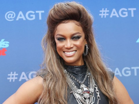 Why is Tyra Banks not hosting America's Got Talent: The Champions?