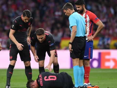Diego Costa told Arsenal medical team he heard Laurent Koscielny's Achilles 'snap'