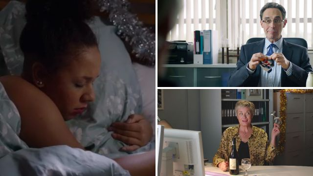 Holby City review with spoilers: Nicky's disastrous date, Serena's decision and Sacha's confession