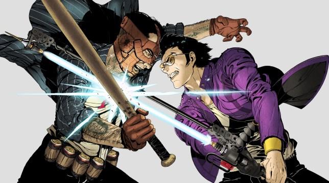 Travis Strikes Again: No More Heroes - the return of Suda51