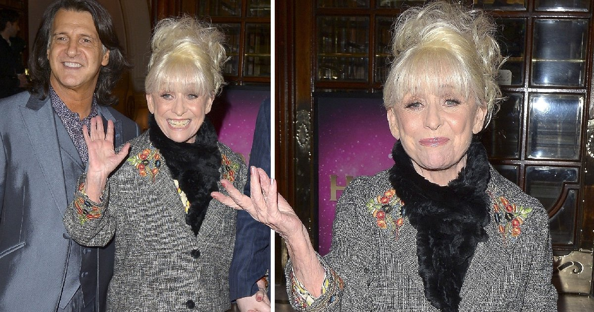 Barbara Windsor looks radiant during surprise red carpet appearance after heart op and Alzheimer's diagnosis